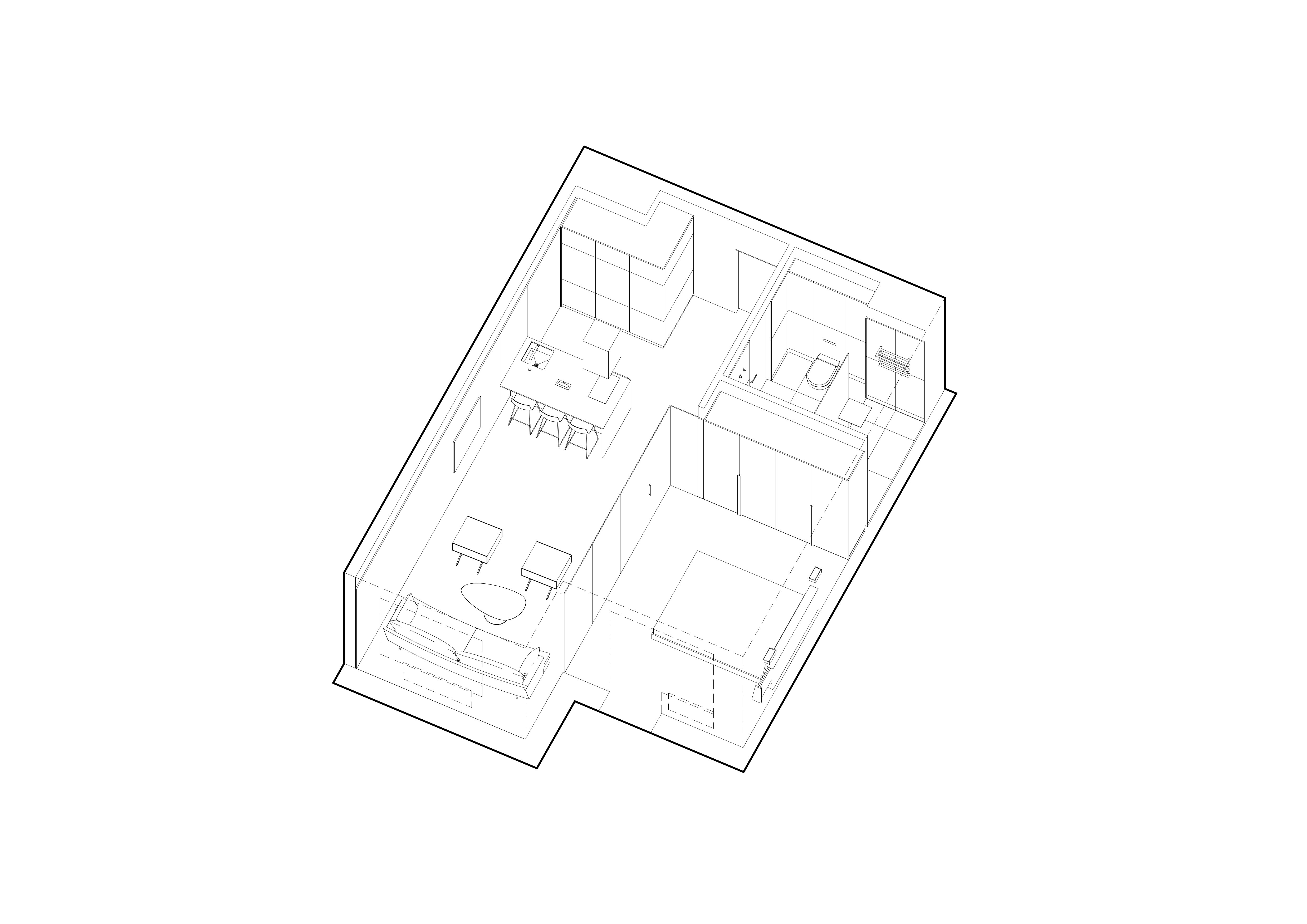 small apartment furniture plan