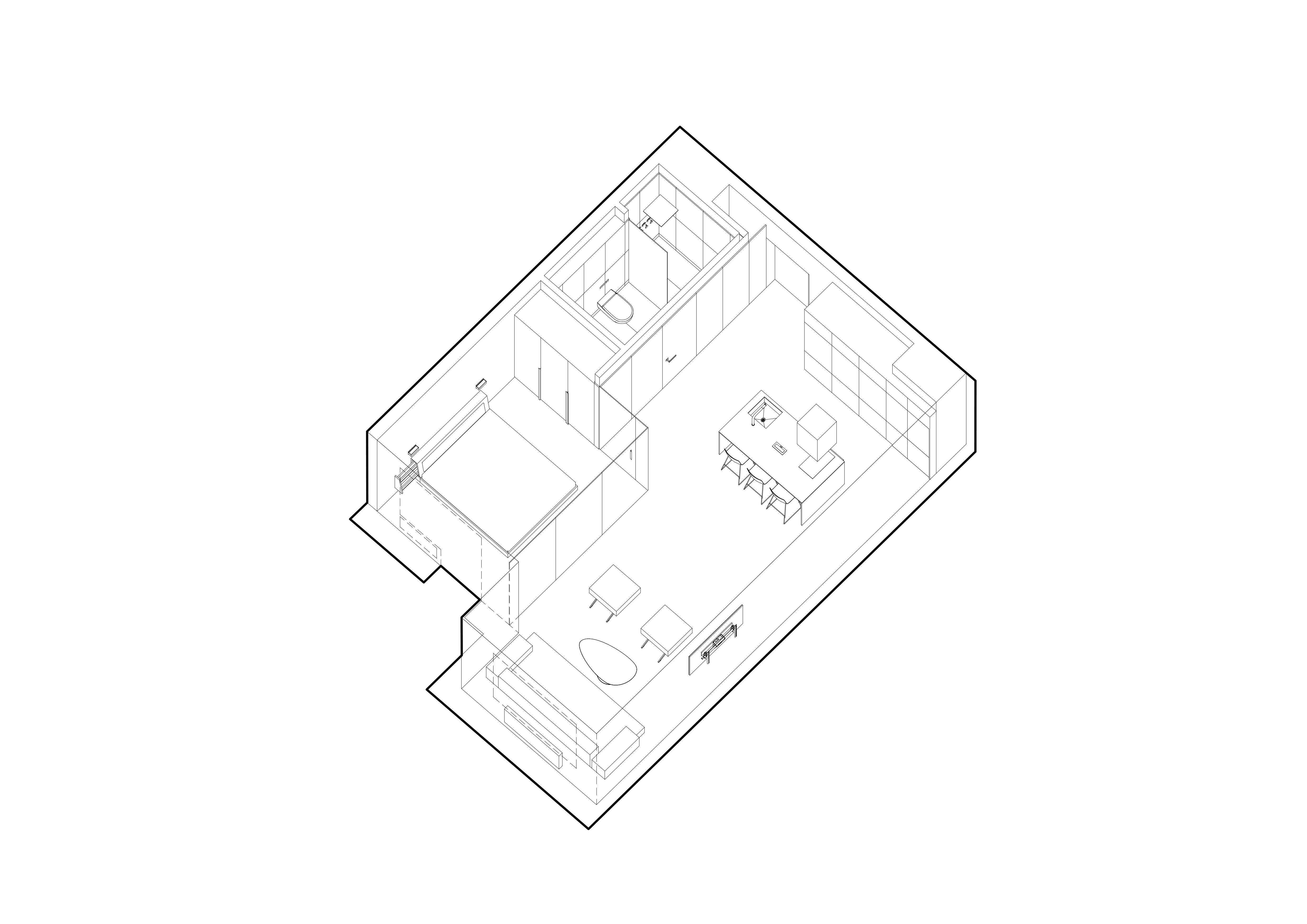 small apartment plan