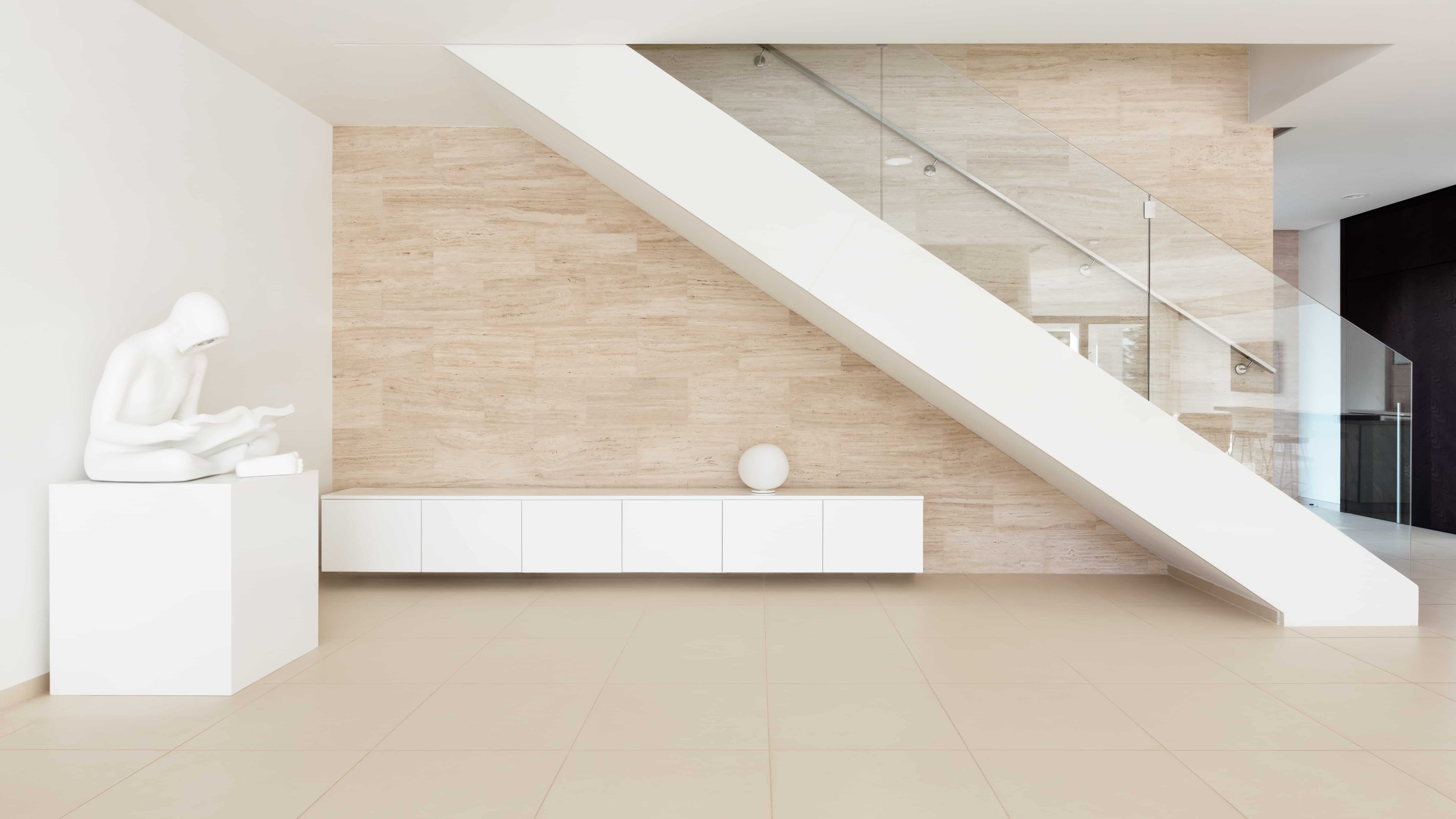 luxury minimalist stairs interior design